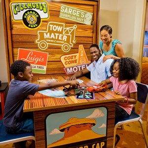 5 of 6: Disney's Art of Animation Resort - Inside the Disney Story Room family suites