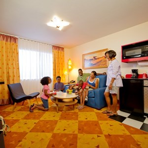 6 of 6: Disney's Art of Animation Resort - Inside the Disney Story Room family suites