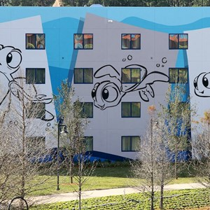 5 of 10: Disney's Art of Animation Resort - Construction site