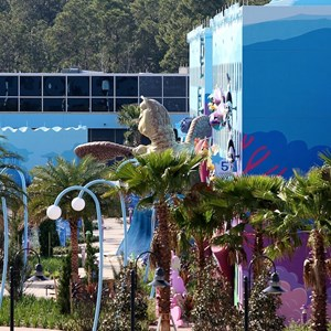 8 of 10: Disney's Art of Animation Resort - Construction site