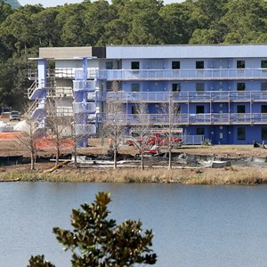9 of 10: Disney's Art of Animation Resort - Construction site
