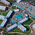 Disney's Art of Animation Resort - Main lobby and Finding Nemo buildings