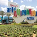 Disney&#39;s Art of Animation Resort - Main entrance signage