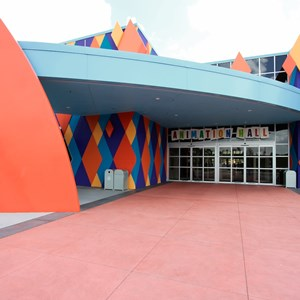 5 of 44: Disney's Art of Animation Resort - Entrance into Animation Hall