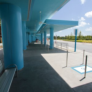 8 of 44: Disney's Art of Animation Resort - Under the covered bus stops