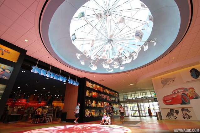 Disney's Art of Animation Resort - Inside Animation Hall lobby
