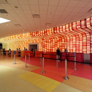 13 of 44: Disney's Art of Animation Resort - Art of Animation check-in area