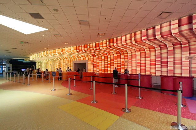 Disney's Art of Animation Resort - Art of Animation check-in area