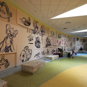 14 of 44: Disney's Art of Animation Resort - Artwork in the check-in area