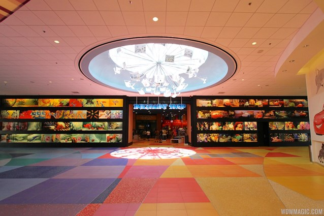 Disney's Art of Animation Resort - View from check-in towards the center of the lobby