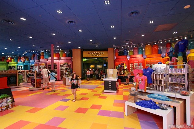 Disney's Art of Animation Resort - Inside the Ink and Paint Shop gift store