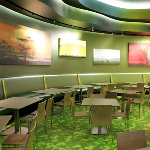 20 of 44: Disney's Art of Animation Resort - Landscape of Flavors Lion King seating section