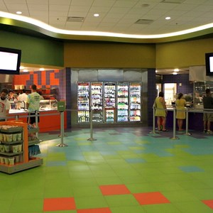 28 of 44: Disney's Art of Animation Resort - Landscape of Flavors views of the food stations