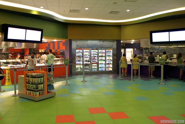Disney's Art of Animation Resort - Landscape of Flavors views of the food stations