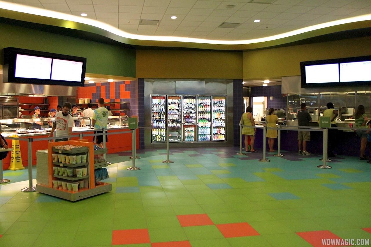 Disney's Art of Animation - Entrance, bus stops, Animation Hall