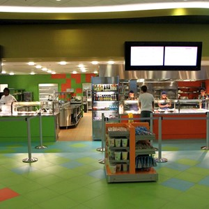 29 of 44: Disney's Art of Animation Resort - Landscape of Flavors views of the food stations