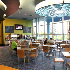 31 of 44: Disney's Art of Animation Resort - Landscape of Flavors Mermaid seating area