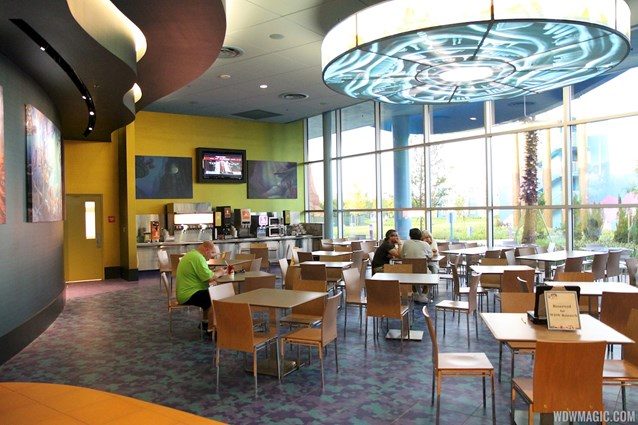 Disney's Art of Animation Resort - Landscape of Flavors Mermaid seating area