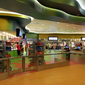 19 of 44: Disney's Art of Animation Resort - Inside Landscape of Flavors Food Court