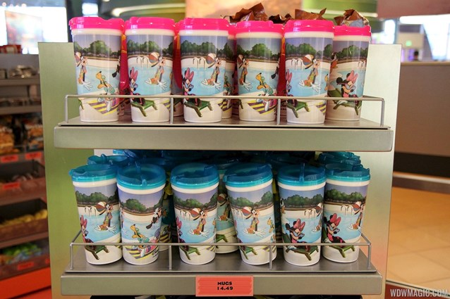 Disney's Art of Animation Resort - Landscape of Flavors refillable mugs