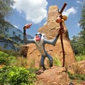 Disney's Art of Animation Resort - Rafiki in Disney's Art of Animation Resort Lion King section