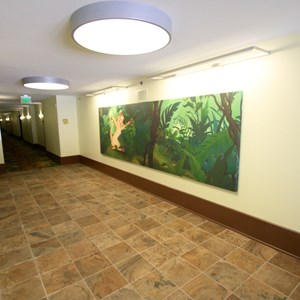 6 of 14: Disney's Art of Animation Resort - The hallway inside the Lion King section at Disney's Art of Animation Resort