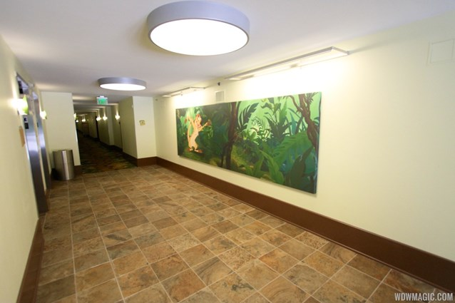 Disney's Art of Animation Resort - The hallway inside the Lion King section at Disney's Art of Animation Resort