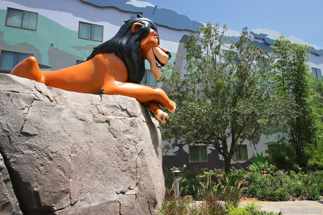 Disney's Art of Animation Resort - Scar in the Lion King section at Disney's Art of Animation Resort
