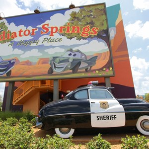 2 of 33: Disney's Art of Animation Resort - Sheriff in the Cars section of Disney's Art of Animation Resort