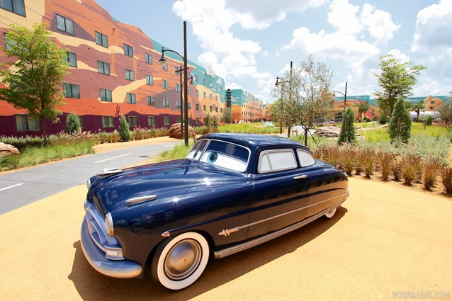 Disney's Art of Animation Resort - Doc Hudson in the Cars area at Disney's Art of Animation Resort