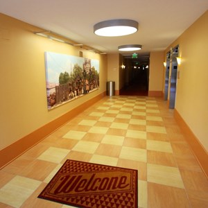 8 of 33: Disney's Art of Animation Resort - Inside the hallways of the Cars section of Disney's Art of Animation Resort