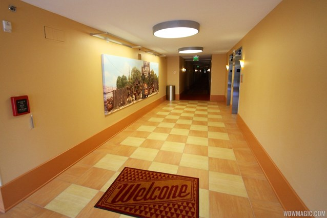Disney's Art of Animation Resort - Inside the hallways of the Cars section of Disney's Art of Animation Resort