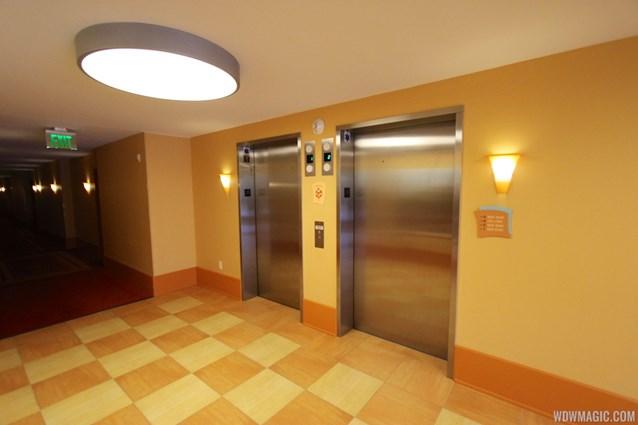 Disney's Art of Animation Resort - Elevators in the Cars section of Disney's Art of Animation Resort