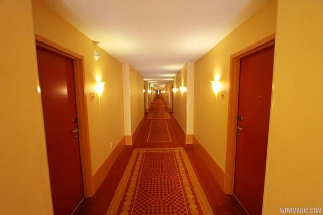 Disney's Art of Animation Resort - A hallway in the Cars building at Disney's Art of Animation Resort