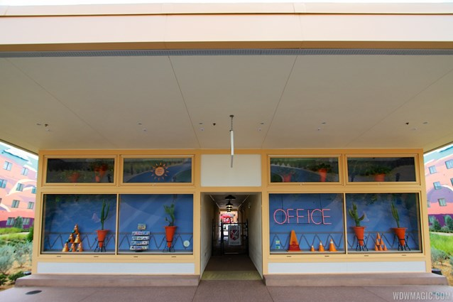 Disney's Art of Animation Resort - The Cozy Cone Motel office in the Cars section at Disney's Art of Animation Resort