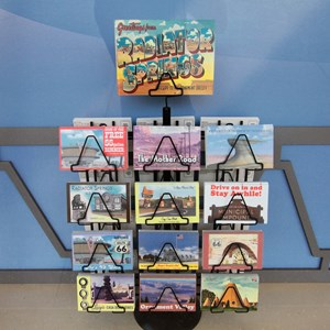 16 of 33: Disney's Art of Animation Resort - Cozy Cone Motel window displays at Disney's Art of Animation Resort
