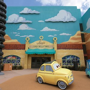 18 of 33: Disney's Art of Animation Resort - Luigi and Guido in the Cars section of Disney's Art of Animation Resort