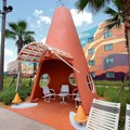 Disney's Art of Animation Resort - Cozy Cone Pool area in the Cars section at Disney's Art of Animation Resort
