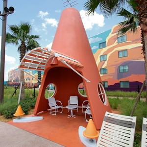 20 of 33: Disney's Art of Animation Resort - Cozy Cone Pool area in the Cars section at Disney's Art of Animation Resort