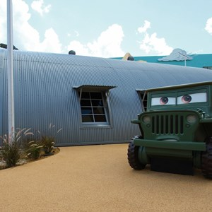 26 of 33: Disney's Art of Animation Resort - Sarge in the Cars area of Disney's Art of Animation Resort