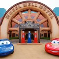 Disney&#39;s Art of Animation Resort - Sally and Lightning McQueen in the Cars section of Disney&#39;s Art of Animation Resort