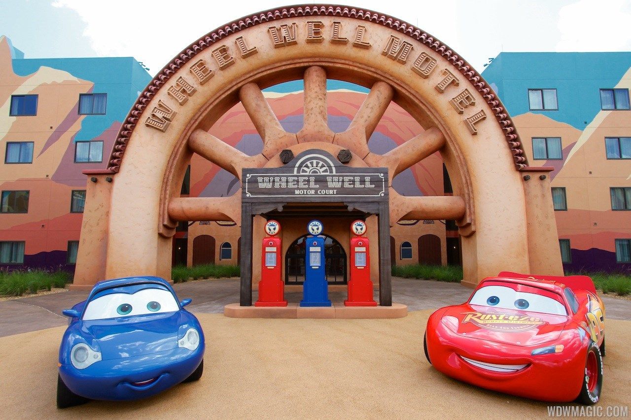 Disney's Art of Animation - Cars section
