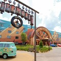 Disney&#39;s Art of Animation Resort - Fillmore in the Cars section of Disney&#39;s Art of Animation Resort
