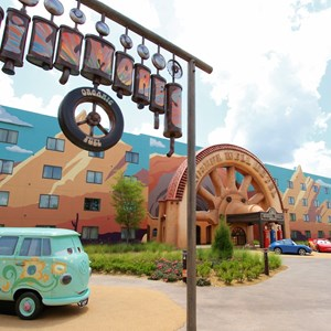 30 of 33: Disney's Art of Animation Resort - Fillmore in the Cars section of Disney's Art of Animation Resort