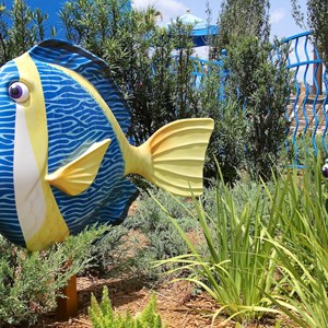 2 of 26: Disney's Art of Animation Resort - Some details in the Finding Nemo section of Disney's Art of Animation Resort