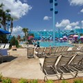 Disney&#39;s Art of Animation Resort - The Big Blue Pool in the Finding Nemo section of Disney&#39;s Art of Animation Resort