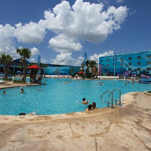 4 of 26: Disney's Art of Animation Resort - The Big Blue Pool in the Finding Nemo section of Disney's Art of Animation Resort