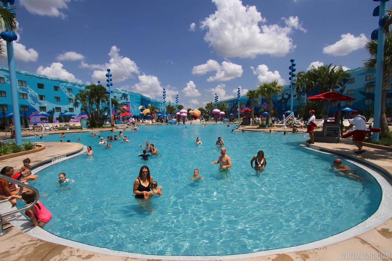 The Big Blue Pool at Art of Animation Resort