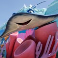 Disney's Art of Animation Resort - Mr Ray in the Finding Nemo section of Disney's Art of Animation Resort