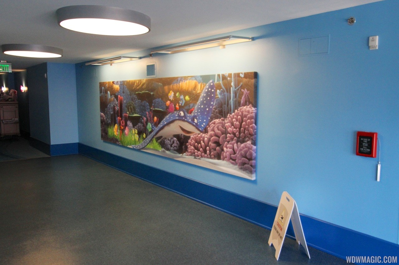 Disney's Art of Animation - Finding Nemo section